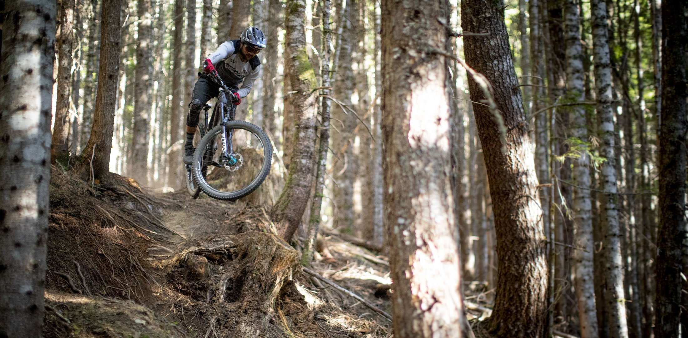 Evil Offering 2021 riding in forest